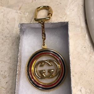 Vintage authentic Gucci key ring